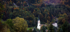 Austrian church in the forest